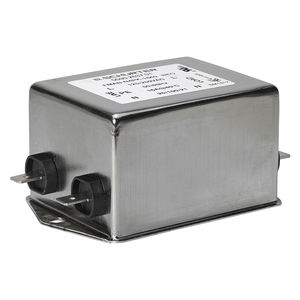 low-pass electronic filter / passive / single-phase / single-stage