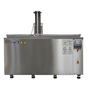 ultrasonic cleaning machine / automatic / for the food industry / for the aeronautical industry