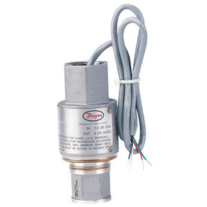relative pressure transmitter / membrane / stainless steel / process