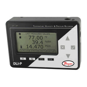 temperature data-logger / pressure / humidity / universal
