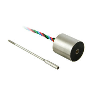 linear displacement sensor / DC LVDT / with SSI interface / short-travel
