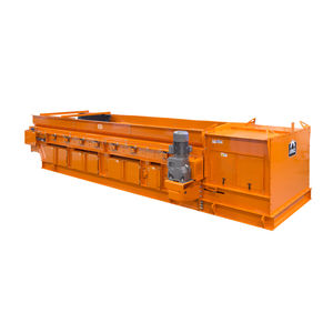 eddy current separator / metal / for the recycling industry / high-efficiency