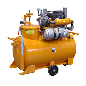 water vacuum cleaner / gas / mobile / with tank