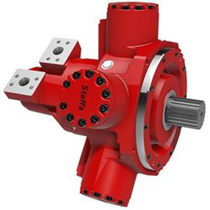 radial piston hydraulic motor / variable-displacement / low-speed / high-torque