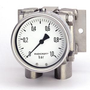analog pressure gauge / differential pressure / process / for water