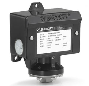 diaphragm pressure switch / differential / for compressors / for pumps