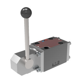 spool hydraulic directional control valve / lever-operated / 4/3-way / 4/2-way