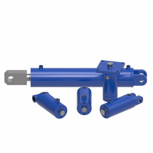 hydraulic cylinder / double-acting / welded / handling