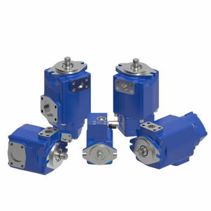 hydraulic rotary vane pump / fixed-displacement / high-pressure / low-noise