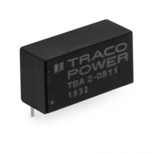 SIP DC/DC converter / industrial / high I/O isolation / cost-optimized