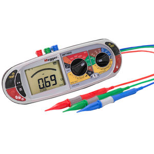 voltage tester / phase sequence / RCD / loop impedance