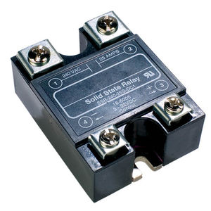 AC solid state relay / power / compact / DIN rail