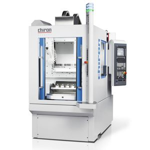 3-axis machining center / vertical / with rotary table / with 2 pins