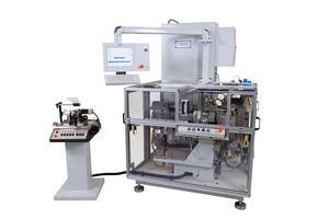 horizontal balancing machine / dynamic / electric armature / rotary transfer