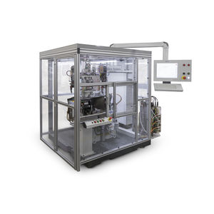 horizontal balancing machine / dynamic / pneumatic / electric armature