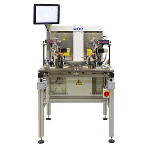 manual balancing machine / horizontal / dynamic / static