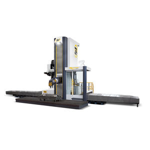 5-axis CNC milling machine / horizontal / traveling-column / high-speed