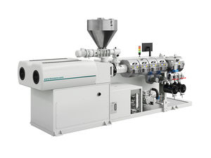PVC extruder / for ABS / for WPC / twin-screw
