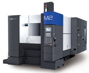 5-axis CNC machining center / universal / rotating table / bridge