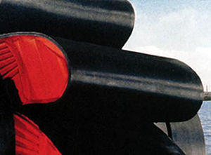 hinged belt conveyor belt / rubber / oil-resistant / reinforced