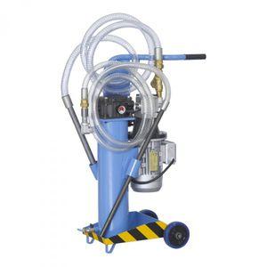 pressure filtration unit / oil / mobile