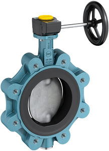 butterfly valve / with handwheel / lug type