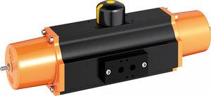 pneumatic valve actuator / rotary / single-acting / Scotch yoke
