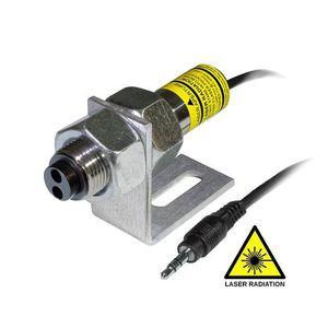 rotational speed sensor / laser / non-contact / threaded