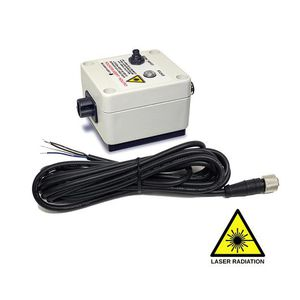 rotational speed sensor / laser / non-contact / digital output