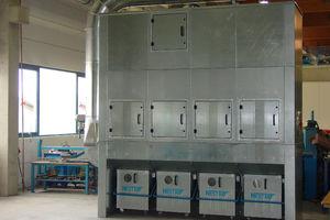 bag filtration plant