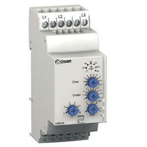 phase sequence monitoring relay / phase unbalance / over-voltage / under-voltage