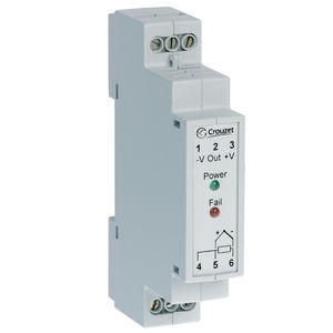 temperature regulator signal converter / DIN rail