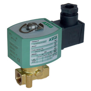 direct-operated solenoid valve / 2/2-way / normally closed / normally open