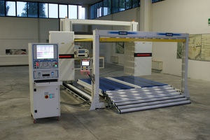 toothed blade cutting machine