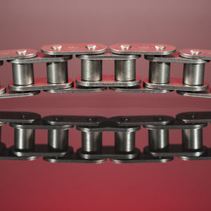 transmission chain / steel / side-bow