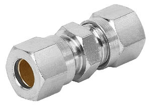 pneumatic fitting / screw-in / cutting ring / straight
