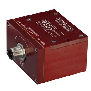 single-axis accelerometer / industrial / with built-in electronics / low-frequency