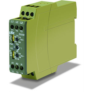 current monitoring relay / voltage / temperature / earth-leakage