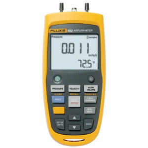 analog micro-manometer / differential / air velocity / rugged