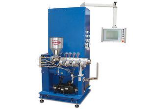 PVC extruder / single-screw / smooth bore