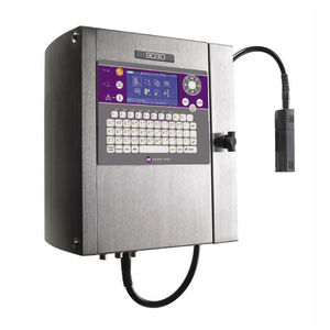 small character marking machine / continuous inkjet / benchtop / automatic