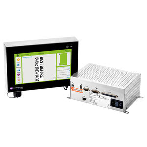 compact thermal transfer overprinter