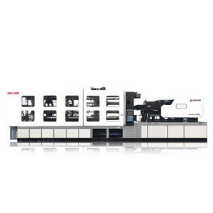 horizontal injection molding machine / hydraulic / electric and hydraulic / for PP