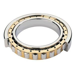 cylindrical roller bearing / radial / single-row / steel
