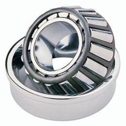 tapered roller bearing / single-row / steel / with snap ring