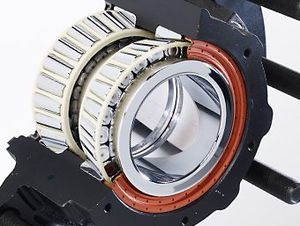 tapered roller bearing / single-row / steel / sealed