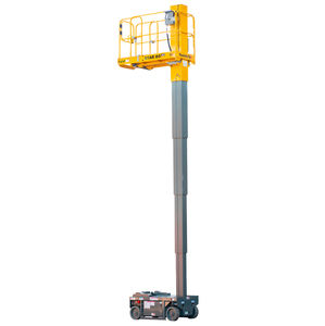 self-propelled mast boom lift