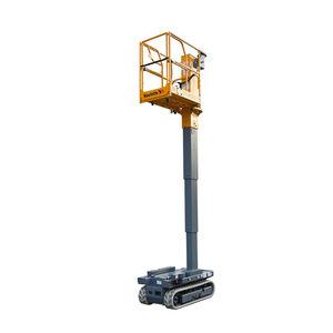 wheeled mast boom lift