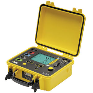 earth impedance testing device / resistance / digital / portable