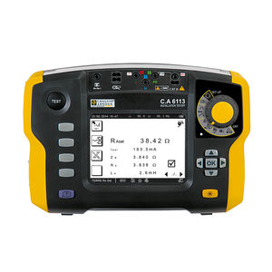 electrical installation tester / voltage / insulation resistance and continuity / phase sequence